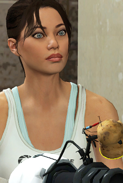 Chell Combine Overwiki The Original Half Life Wiki And