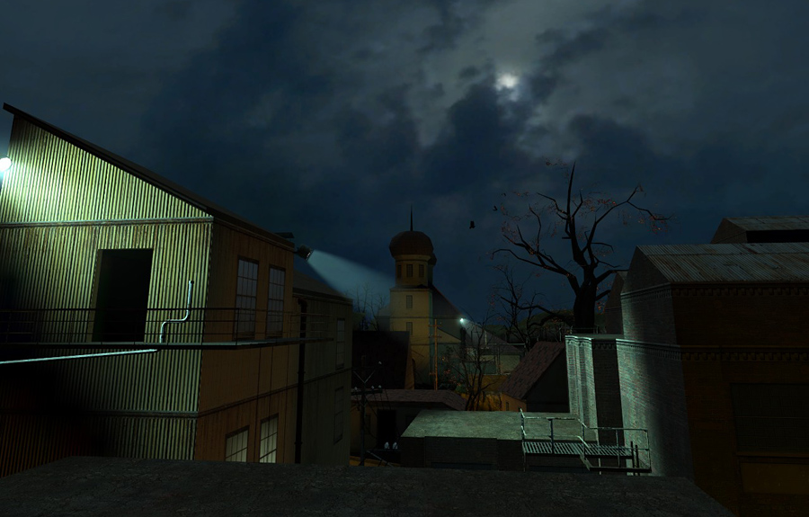 Ravenholm is actually one of the least-changed chapters in the beta, in that