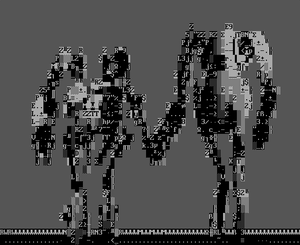 Atlas and p body combine overwiki the original half life wiki and ascii art image of the first revealed concept art of the robots shown during the portal arg malvernweather Gallery